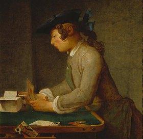 Jean-Baptiste Siméon Chardin: Das Kartenhaus