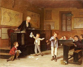 André Henri Dargelas: Im Klassenzimmer