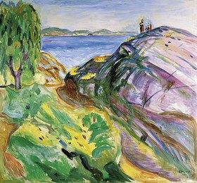 Edvard Munch: Sommer an der Küste, Krager (Sommer ved kysten)