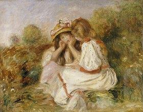 Auguste Renoir: Zwei kleine Mädchen (Deux Fillettes)