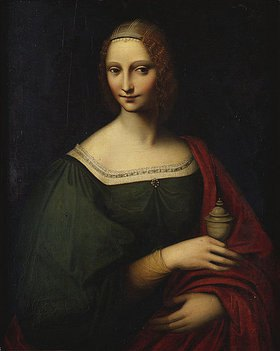 Giampietrino (G. Pedrini): Portrait einer Dame als Magdalena