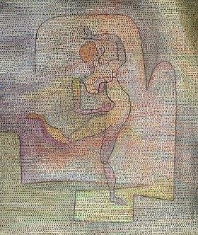 Paul Klee: Tänzerin