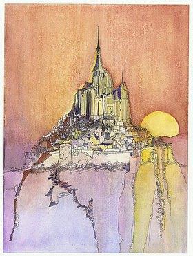 Annette Bartusch-Goger: Frankreich -  Mont-Saint-Michel