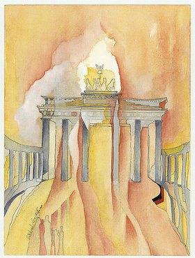 Annette Bartusch-Goger: Deutschland, Berlin: Brandenburger Tor