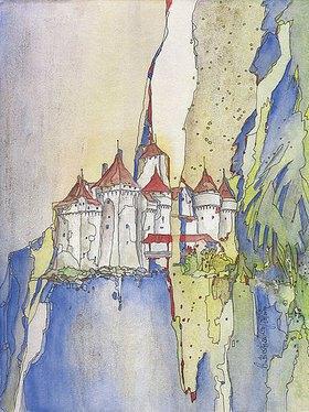 Annette Bartusch-Goger: Schweiz, Genfer See, Schloss Chillon