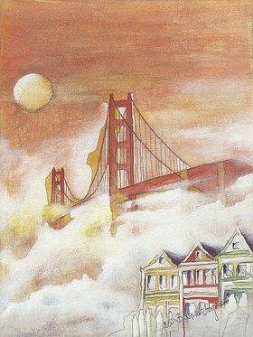 Annette Bartusch-Goger: USA, San Francisco: Golden Gate