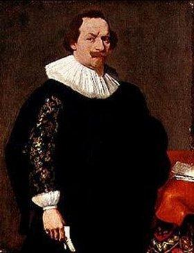 Gerard Douffet: Bildnis eines Mannes mit einer Narbe