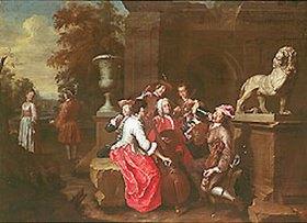 Peter Jakob Horemans: Das Konzert im Garten