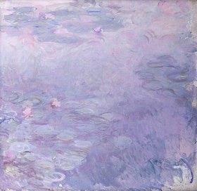 Claude Monet: Seerosen in blassen Farben