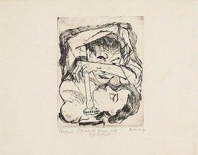 Max Beckmann: Schlafende. 1917 (H 123 l.)