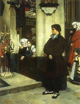 James Jacques Tissot: Martin Luther zweifelnd