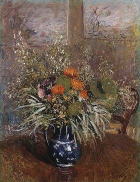 Alfred Sisley: Ein Blumenstrauß