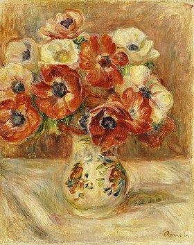 Auguste Renoir: Stillleben mit Anemonen