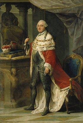 Pompeo Girolamo Batoni: Bildnis des Kurfürsten Karl (IV.) Theodor von der Pfalz und Bayern (1724-1799)