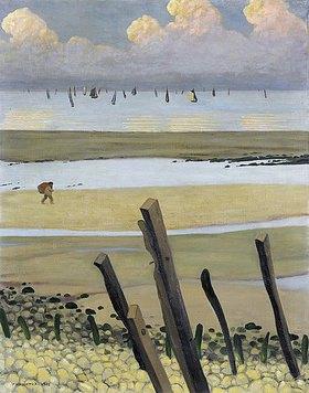Felix Vallotton: Das Meer bei Ebbe, Villerville