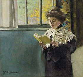 Felix Vallotton: Lesende am Fenster