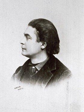 Nadar: Portrait des französischen Kabarettsängers Aristide Bruant
