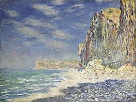 Claude Monet: Steilküste bei Fécamp (Falaise près de Fécamp)