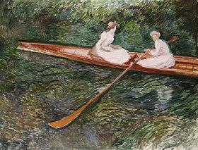 Claude Monet: Das rosafarbene Ruderboot (La Barque Rose)