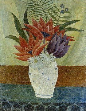 Henri Rousseau: Blumenstrauß