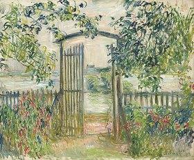 Claude Monet: Das Gartentor in Vetheuil (La Porte du jardin à Vetheuil)
