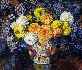 Theo van Rysselberghe: Vase mit Blumen