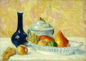 Hippolyte Petitjean: Stillleben mit Früchten