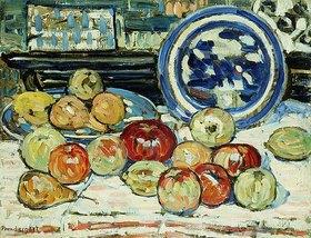 Maurice Brazil Prendergast: Stillleben mit Äpfeln