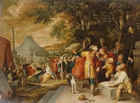 Frans Francken II.: Der Turmbau zu Babel