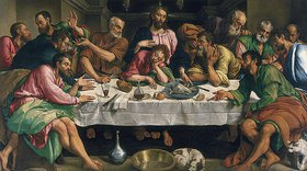 Bassano (Jacopo da Ponte): Das letzte Abendmahl