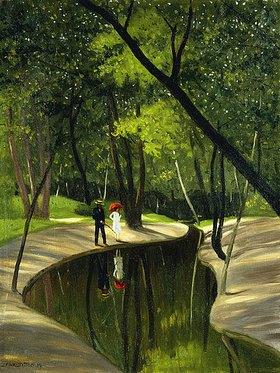 Felix Vallotton: Bois du Boulogne