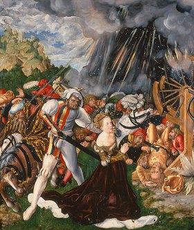 Lucas Cranach d.Ä.: Die Enthauptung der hl. Katharina