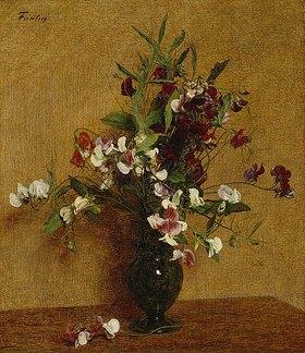 Henri de Fantin-Latour: Strauß mit Gartenwicken
