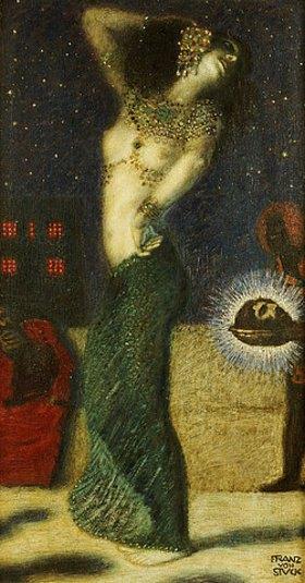 Franz von Stuck: Tanzende Salome