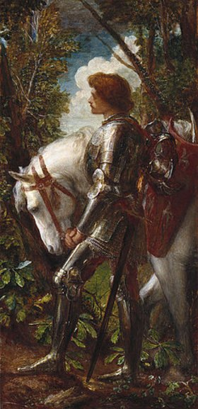 George Frederick Watts: Sir Galahad