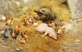 Herbert William Weekes: Glückliches Tierleben