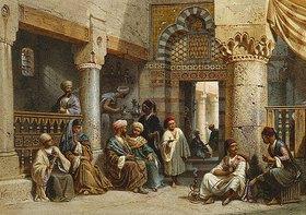 Carl Friedrich Heinrich Werner: In einem arabischen Kaffeehaus