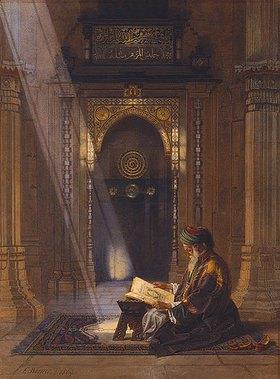Carl Friedrich Heinrich Werner: In der Moschee