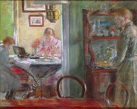 Fritz von Uhde: Interieur (Schwestern)