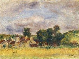 Auguste Renoir: Dorf in der Bretagne