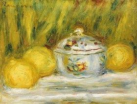 Auguste Renoir: Stillleben mit Zuckerdose und Zitronen