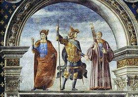 Domenico (T.Bigordi) Ghirlandaio: Publius Decius Mus, Scipio und Cicero