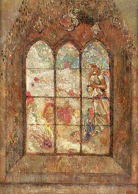 Odilon Redon: Fenster mit farbigem Glas