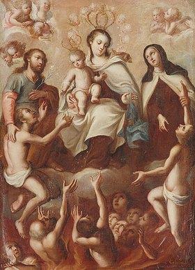 Miguel Cabrera: Maria mit dem Kind