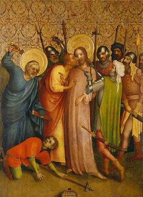Meister des Heisterbacher Altars: Gefangennahme Christi