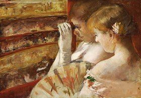 Mary Cassatt: In der Theaterloge