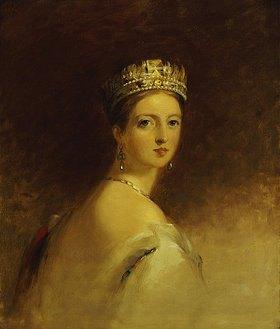 Thomas Sully: Königin Victoria. 1871 (Kopie der Originalstudie von 1838)