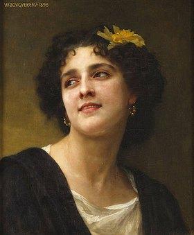 William Adolphe Bouguereau: Eine dunkle Schönheit