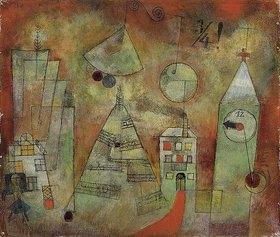 Paul Klee: Schicksalstunde um dreiviertel zwölf