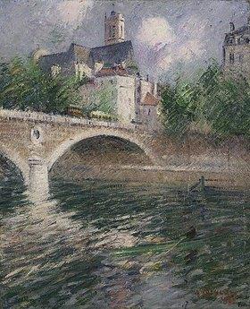 Gustave Loiseau: Die Kirche in Saint-Gervais